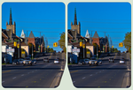 Thunder Bay, Algoma St ::: HDR-by-RAW CrossEye 3D by zour