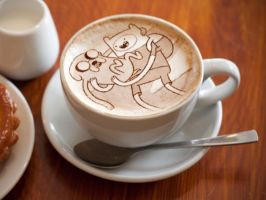 Coffee adventure time by luna201269