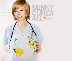 SUNNY: THE DOCTOR IS IN (VER.1) by spiderliliez
