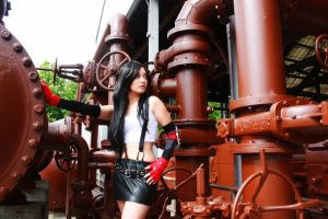 Mia as Tifa by nwcosplay