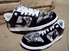 MGS: Portable Ops Nike Dunks by PattersonArt