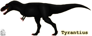 Tyrantious contest entry by Bramble-wolf