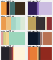 Adventure Time Color Palette Adoptables 2 by Ask-The-Gay-Vampire