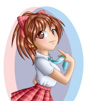 Jess - My Tie is Adorable by kayoko-chan