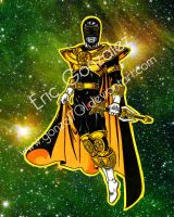Gold Ranger redux by Gonzo1701