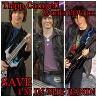 SAVE IM IN THE BAND - Tripp by Eponinepetrelli