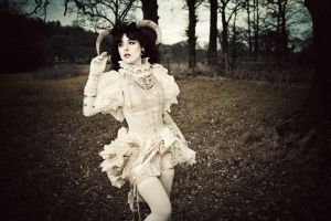 the sheep queen II by yukidoll-photography