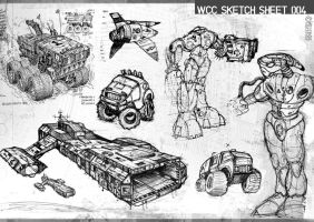 sketch sheet 004 by wiledog