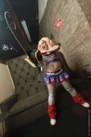 lollipop chainsaw couch by KittyEpiXBANG