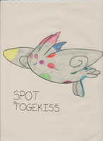 Spot the Togekiss by iKYLE
