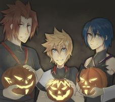 pumpkin carving team 2 by CherryStarwberry7