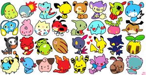 Johto series by Koolaid-Girl