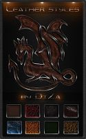 9 Colorful Leather Styles by DiZa-74