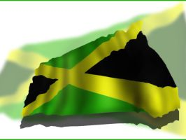 the Jamaican flag by Stainless-x