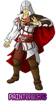 Ezio Auditore por PainterBits by PainterBits