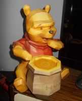 Winnie the Pooh Papercraft by Sabi996