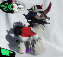 Evil King Sombra V3 Glow-in-the-Dark by kiashone