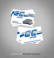 CC Autos Business Card by RonanMcS