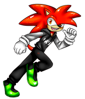 I'm the Red Head Hedgehog, Iron! by Viibe