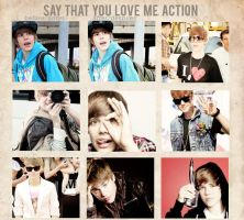 Say that u love me action by delicatepetals