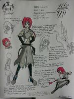Laria Reference Sheet by Project-mafia