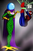 Missterio vs Spider-Girl by Uber-Stooge