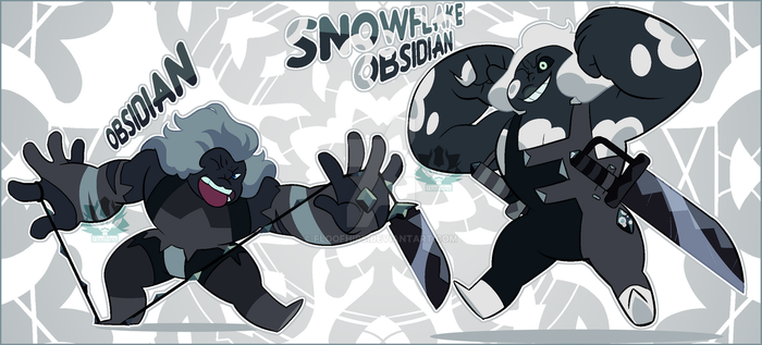[ADOPT] - Obsidians (CLOSED) by FloofHips