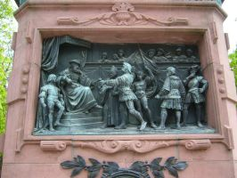 Medieval relief photographed in Stuttgart by Predator843564e3