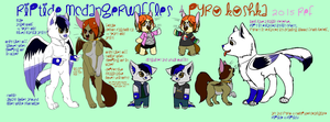 Riptide and Pyro Reference Sheet 2015 by BurningMyElectronics