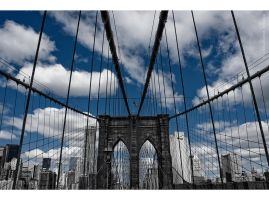 Brooklyn Bridge by Lisa-M-T