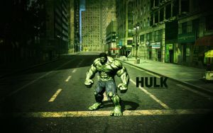 The Hulk by lisong24kobe