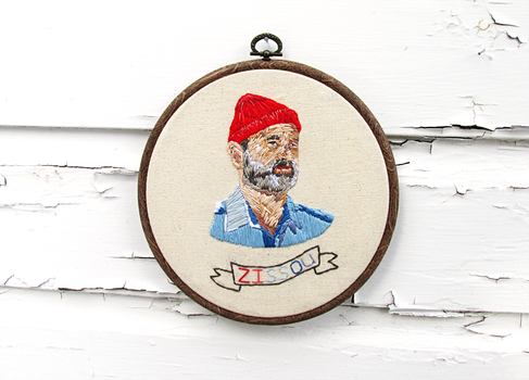 Wes Anderson's Steve Zissou from The Life Aquatic by thelastromantic