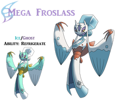 Mega Froslass by AlphaXXI
