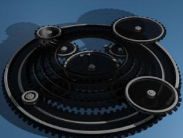 Abstract Ring Gear System by DeepCrimsonFFN
