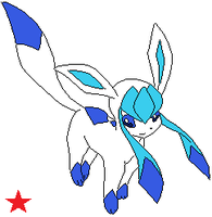 Glaceon OC: Winter by Cocoafox895