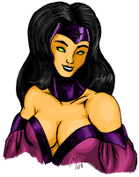 Nightstar - DC Comics - Color by UltimeciaFFB