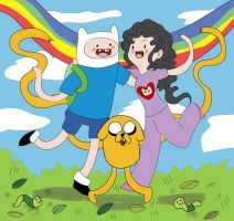 adventure_time_finn_and_me by Namo-0