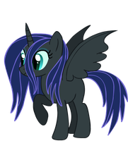New Lunar Guard OC Turquoise Flame by FinalSmashPony