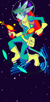 Space boy by AcidicAbsinthe