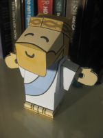 Lord Jesus Christ Papercraft by mirver