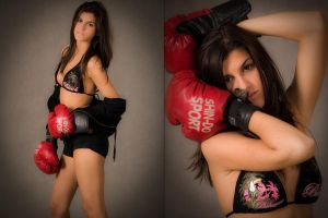 Boxing Girl - 04 by Przemo80