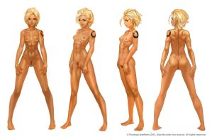 Alacrity Full Nude Turnaround by JetEffects