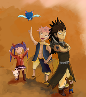 Fairy Tail - Dargon Slayers by sonic12399