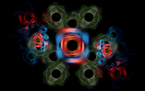 rings with black holes by Andrea1981G