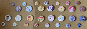 The Pony Pin Project by MisterAibo