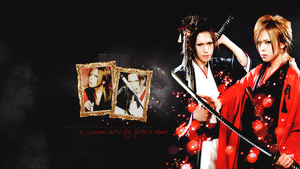 Ryoga and Reno Wallpaper by ParanoiaGod69