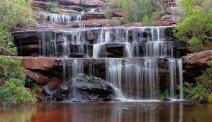 Falls of the Bush by MarkLucey