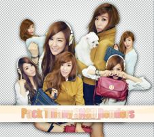 Pack Tiffany SNSD Renders by ryeddh20