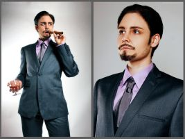 Iron Man: Business Man by Revelio
