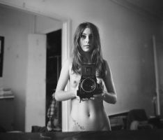in the mirror #5 by Marc1375